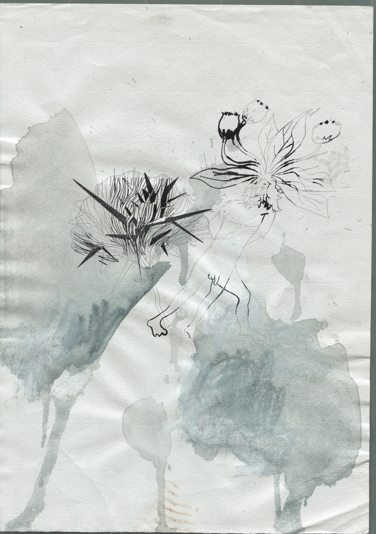 1999 Chimaere paper AndreasGehlen - Untitled / Chimaeras III/ XI
