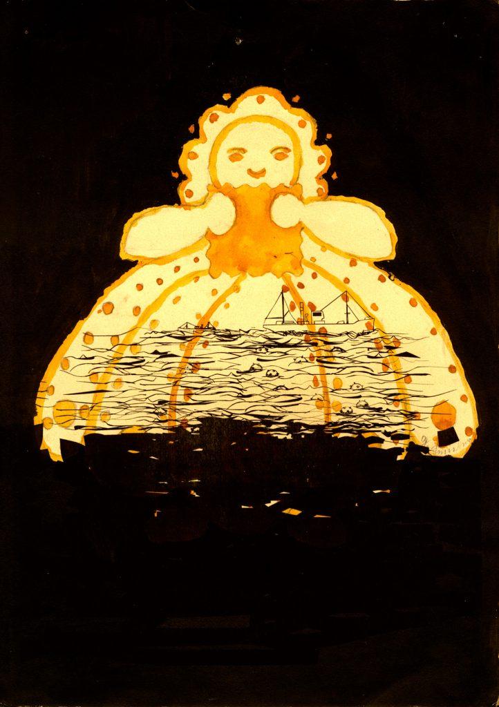 2000 Sonnenstrahlen paper AndreasGehlen 722x1024 - O.T. (Sonnenstrahlen)