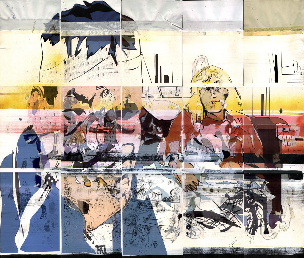 2002 Nudo WeAreColdStars paper AndreasGehlen - Ñudo - Wir sind kalte Sterne